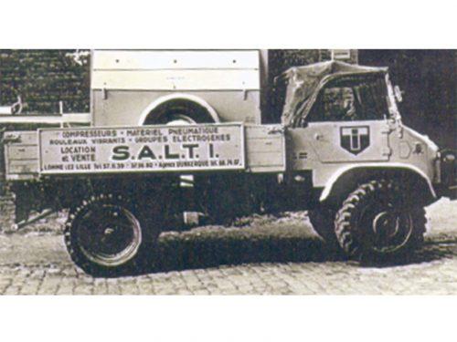 1950 - Création de l'entreprise les Transports Industriels : transports et stockage exceptionnel