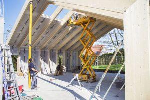 Nacelle électrique pour toiture
