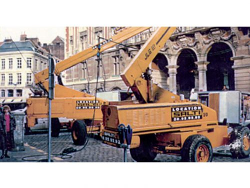 1989 - Création de l'activité Location Élévation