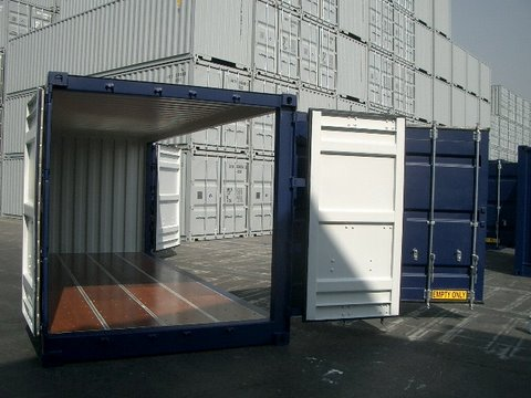 CONTAINER 20 PIEDS OUVERTURE GRAND COTE (33M3)