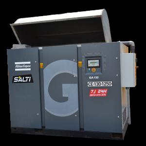 compresseur electrique 132kw 20700l/mn