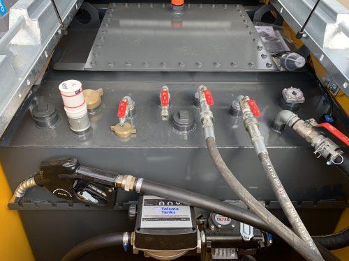 Bouchon connecte pour cuve a fuel