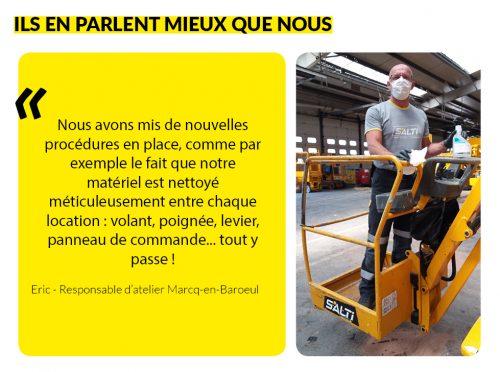 Témoignage Eric - Responsable d'atelier Marcq-en-Baroeul
