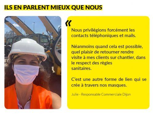 Témoignage Julie - Responsable commerciale Dijon